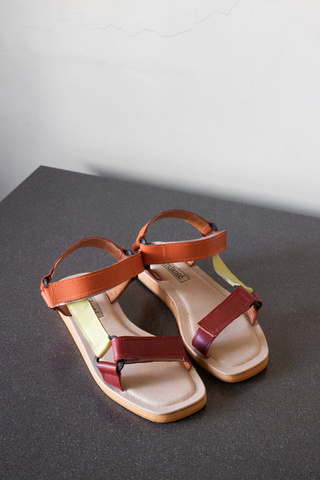The Sportif Sandal in Colada - andanté, sandals - loafers, sandals leather footwear