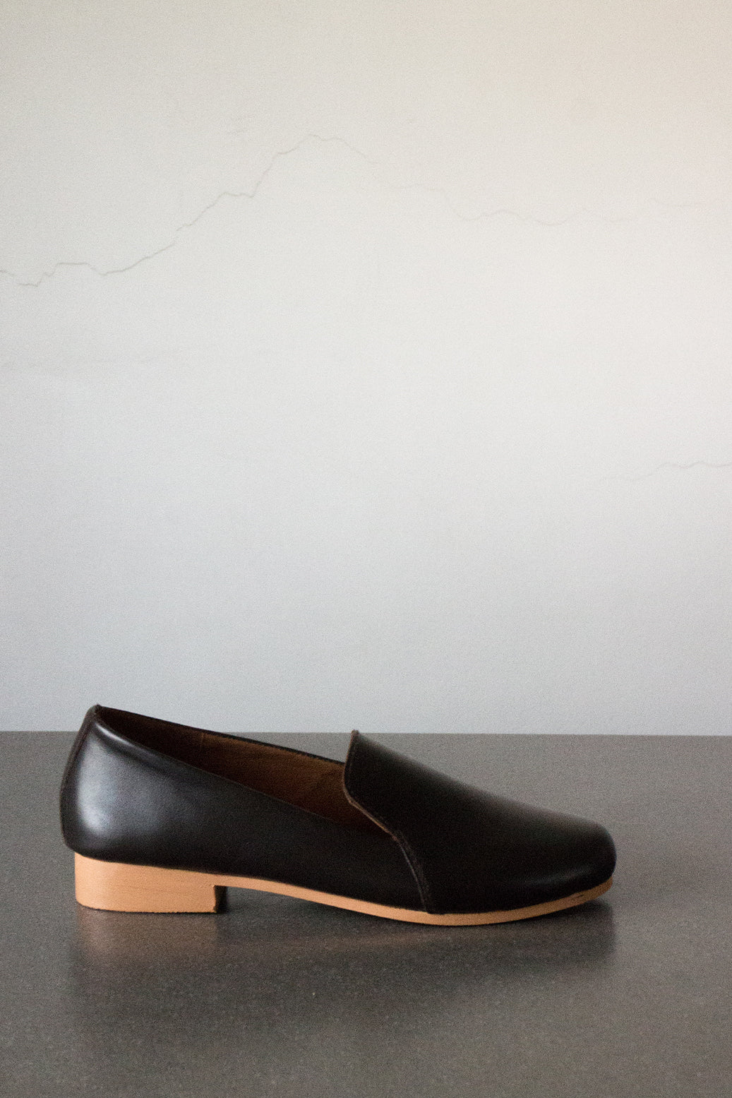 The Smoking Loafer in Dark Brown - andanté, loafers - loafers, loafers leather footwear