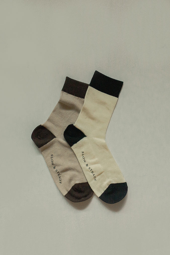 Mantra Sock Two-Toned Set