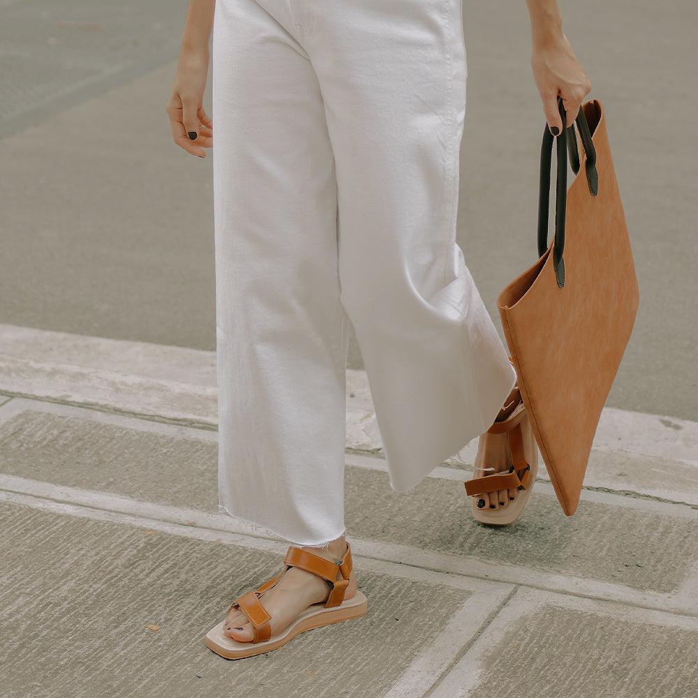 The Sportif Sandal in Tan