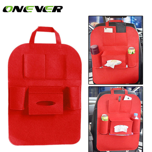 Onever Auto Car Storage Bag Car Seat Multi Pocket Travel Storage