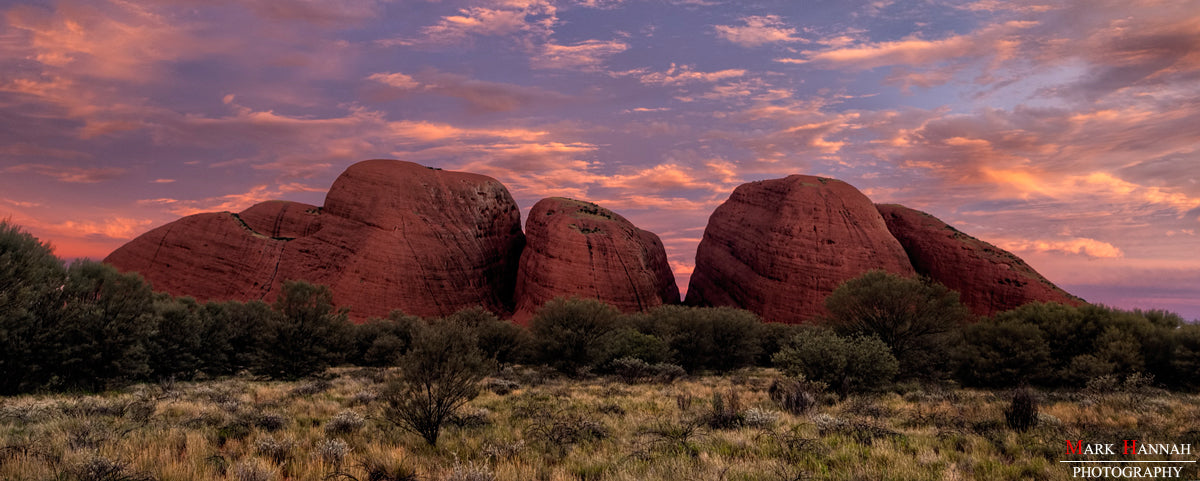 Kata Tjuta at Sunset