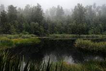 Misty-Reflection-Lake-Matheson-New-Zealand-Fog-Mirror-Mark-Hannah-Photography