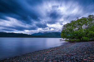 Lake-Te-Anau-New-Zealand-Moody-Long-Exposure-Sky-Mark-Hannah-Photography