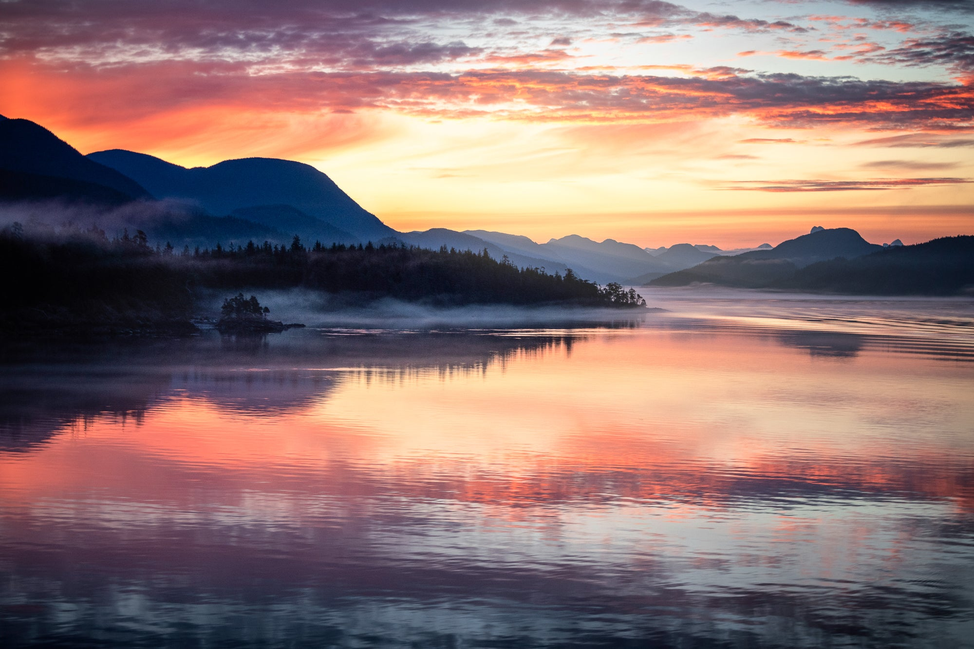 Sunrise-Morning-Mist-Inland-Passage-Alaska-USA-Mark-Hannah-Photography