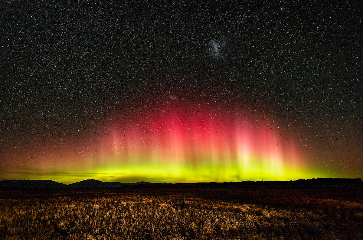 Lake-Tekapo-Aurora-Australis-Southern-Lights-New-Zealand-Mark-Hannah-Photography