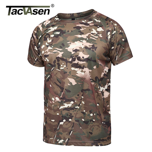 Camouflage Quick Dry Army Tactical T-shirt