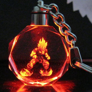 Goku LED Key-Chain