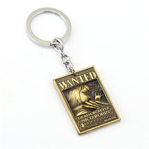 Robin Wanted Poster Key-Chain
