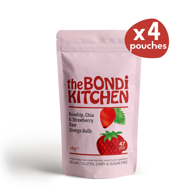 Rosehip & Strawberry - 4 pouches