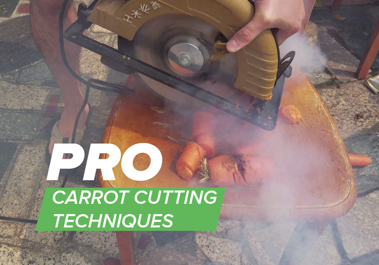 How To Cut Carrots With A Table Saw Sven Growers