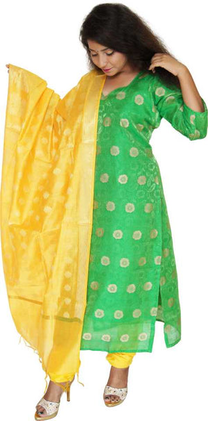 MANURATH  Salwar, Suit  and Dupatta Material  (Unstitched)