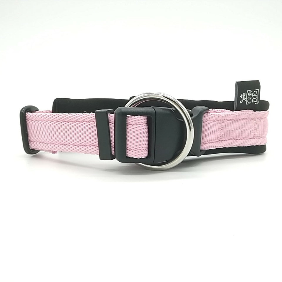 Collare per cani con imbottitura in neoprene Rosa Baby – Yosemite Collection - Collare Neoprene  - Connecto.dog