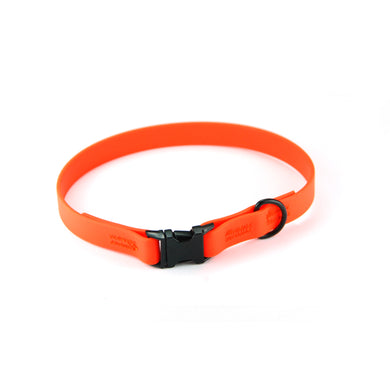 Collare per cani fisso in Biothane® Arancione - Collari in Biothane  - Connecto.dog