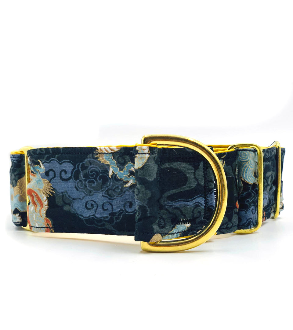 Collare martingala per levrieri Dragon And Kirin - Martingale  - Connecto.dog