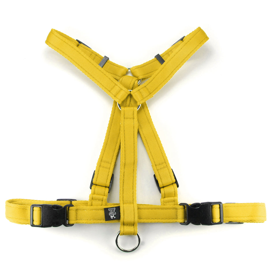 Pettorina Virtuosa Giallo Banana XS - Special Price  - Connecto.dog