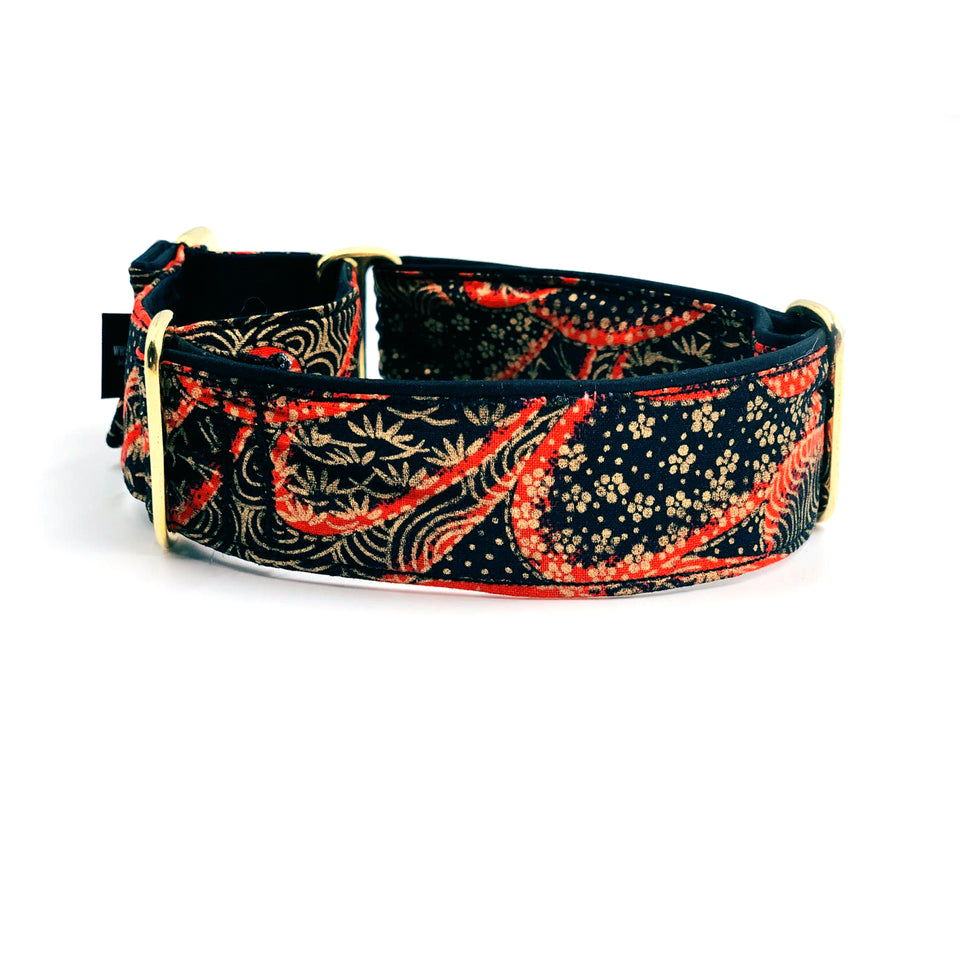 Collare martingala per levrieri Sakura - Martingale  - Connecto.dog