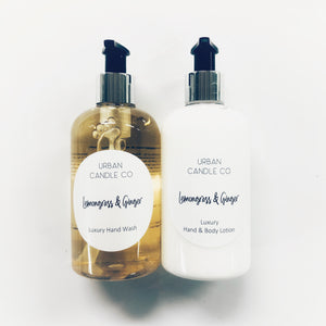 Hand & Body Wash - Hand & Body Lotion