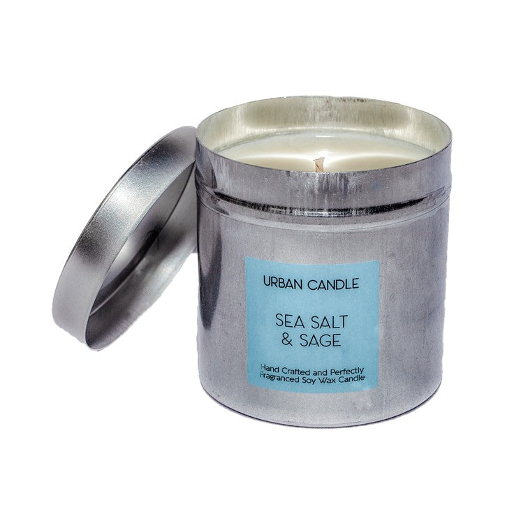 Sea Salt & Sage - Perfect Candle Tin