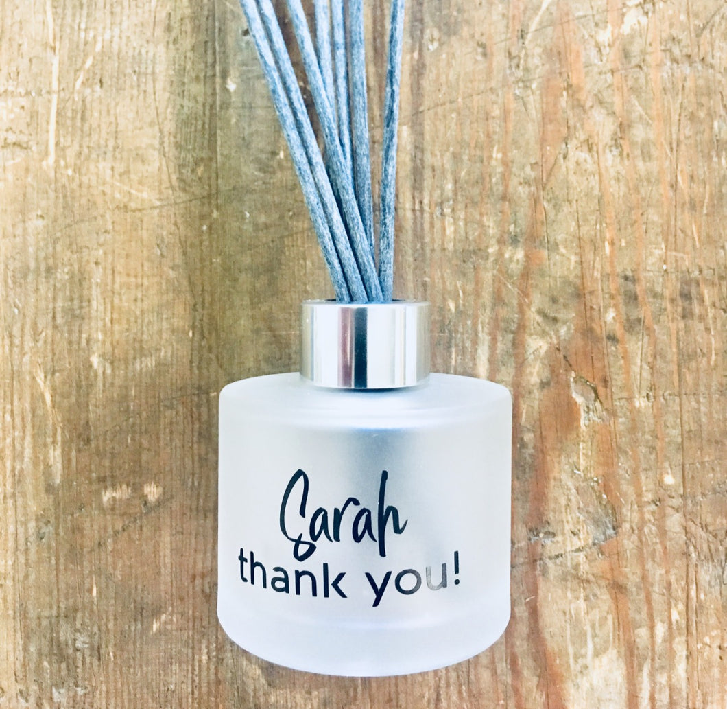 NEW! - Personalised Reed Diffuser with Gift Box & Bag / 18