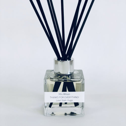 Personalised Reed Diffuser - Teachers Gift