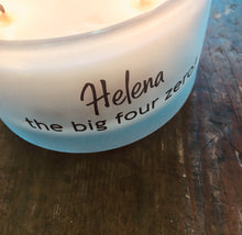 "NEW! - Personalised Fragranced Three Wick Candle with Gift Box & Bag / 18 ""Statements"" to choose from"