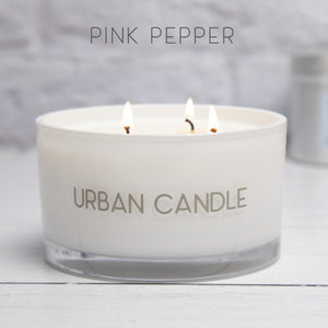 Pink Pepper - Luxury Three Wick Candle