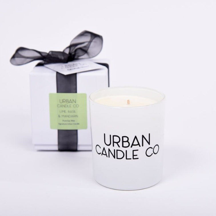 Lime Basil & Mandarin - Luxury Signature Candle