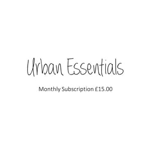Urban Essentials Monthly Subscription