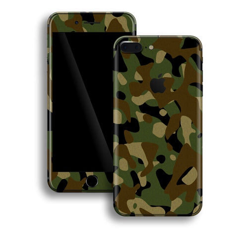 iPhone 8 Plus - Camouflage Green - Handy-werk.at