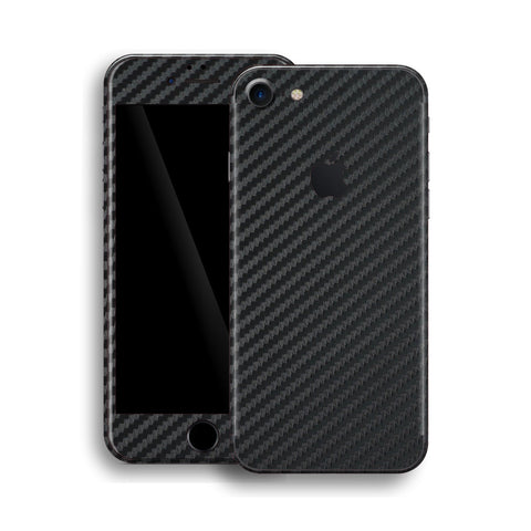 iPhone 8 - 3D Carbon Schwarz - Handy-werk.at