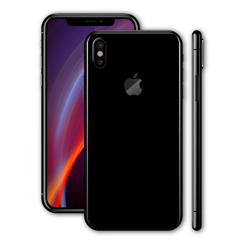 iPhone X - Deep Black MATT - Handy-werk.at