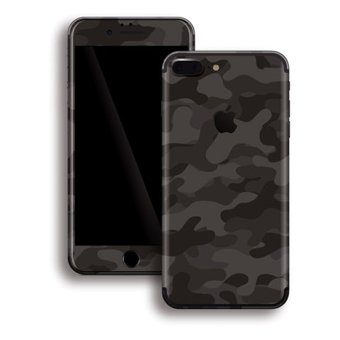 iPhone 8 Plus - Camouflage Black