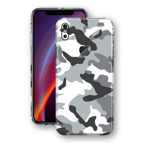 iPhone X - Camouflage White - Handy-werk.at