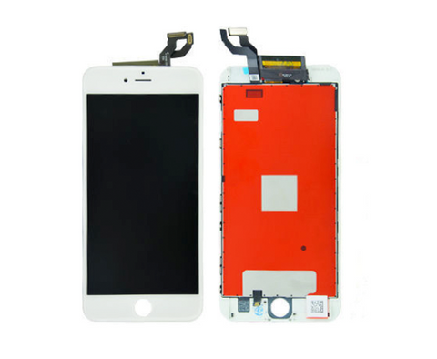 Apple iPhone 6S Plus - Komplett Display LCD + Front Rahmen + Touchscreen WEISS - Handy-werk.at