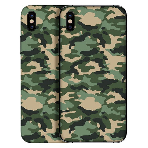 iPhone X - Camouflage Green