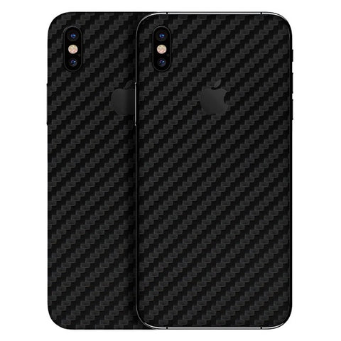iPhone X - 3D Carbon Schwarz - Handy-werk.at