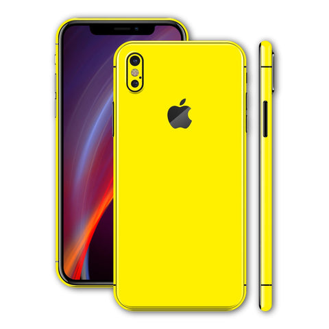 iPhone X - Lemon Yellow - Handy-werk.at