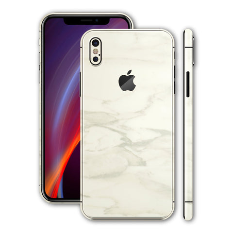 iPhone X - White Marble - Handy-werk.at