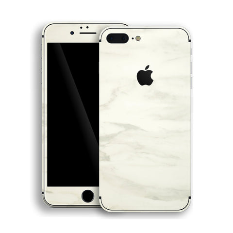 iPhone 8 Plus - White Marble - Handy-werk.at