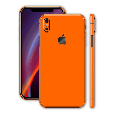 iPhone X - Orange MATT - Handy-werk.at