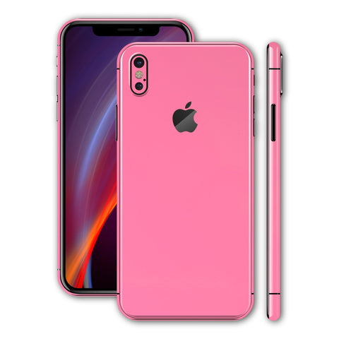 iPhone X - Sweet Pink MATT - Handy-werk.at