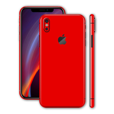 iPhone X - Hot Red