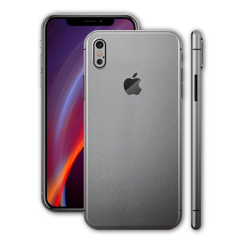 iPhone X - Camora Anthrazit - Handy-werk.at