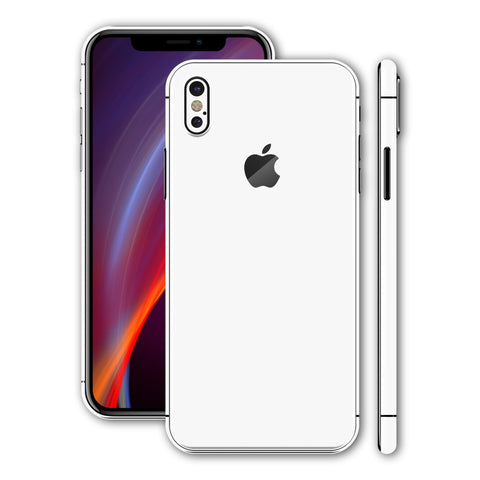 iPhone X - Gloss White - Handy-werk.at