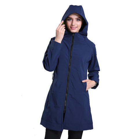 Hooded Softshell Outdoor Jacket
