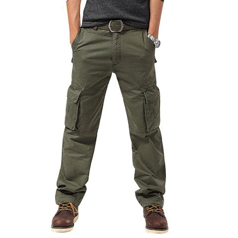 Windproof Multi-pockets Camping Loose Style Trouser