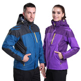 Windproof Softshell Winter Jacket