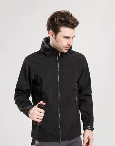 Hooded Patchwork Camping & Hiking Jacket