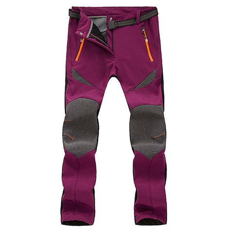 Softshell Windproof Multi-Color Hiking Trousers
